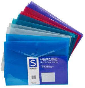 Document Wallets - Manilla Folders